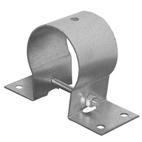 USP 2-in Triple Zinc Pipe Rail Tie
