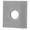 USP 2-in x 2-in Triple Zinc Bearing Plate, 1/2-in Bolt Dia