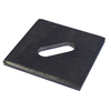 USP 3-in x 3-in x 5/8-in Slotted Bearing Plate
