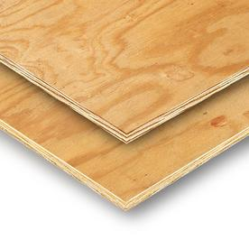 Plytanium 3/8 x 4 x 8 Plywood Sheathing