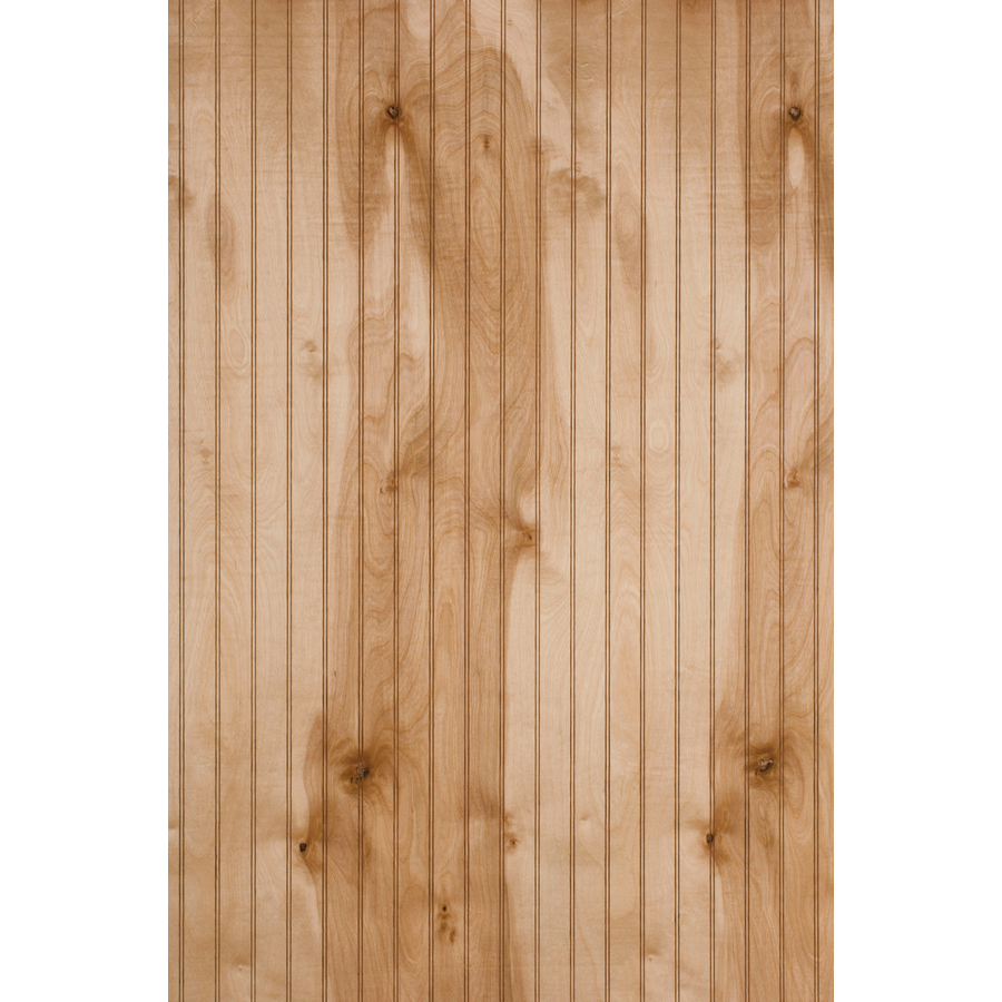 Shop murphy 48 in x 8 ft single bead birch wood for Birch wood cost
