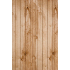 Murphy 48-in x 8-ft Single Bead Clear Birch Wood Wainscoting Wall Panel