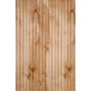 Murphy 48-in x 8-ft Single Bead Clear Birch Wood Wainscoting Wall Panel