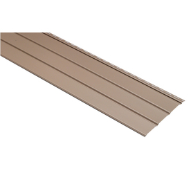 12-in x 12-ft Clay Triple Solid Soffit