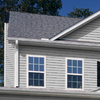 Georgia-Pacific Vision Pro 8-in x 150-in Gray Wood Grain Double 4 Traditional Vinyl Siding Panel
