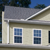 Georgia-Pacific Vision Pro 10-in x 144-in Almond Wood Grain Double 5 Dutch Lap Vinyl Siding Panel