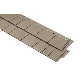 15-in x 54-in Clay Vinyl Siding