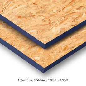 OSB Sheathing 19/32 CAT PS2-10 (Common: 19/32-in x 4-ft x 8-ft; Actual: 0.578-in x 47.875-in x 95.875-in)
