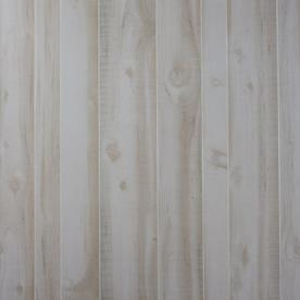 Georgia-Pacific 47.76-in x 7.98-ft Recessed White Cedar MDF Wall Panel