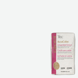 TEC Standard White Unsanded Powder Grout