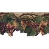 allen + roth 10.37-in Purple Prepasted Wallpaper Border