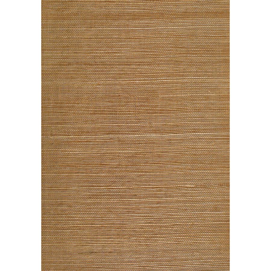 shop allen roth brown grasscloth unpasted textured