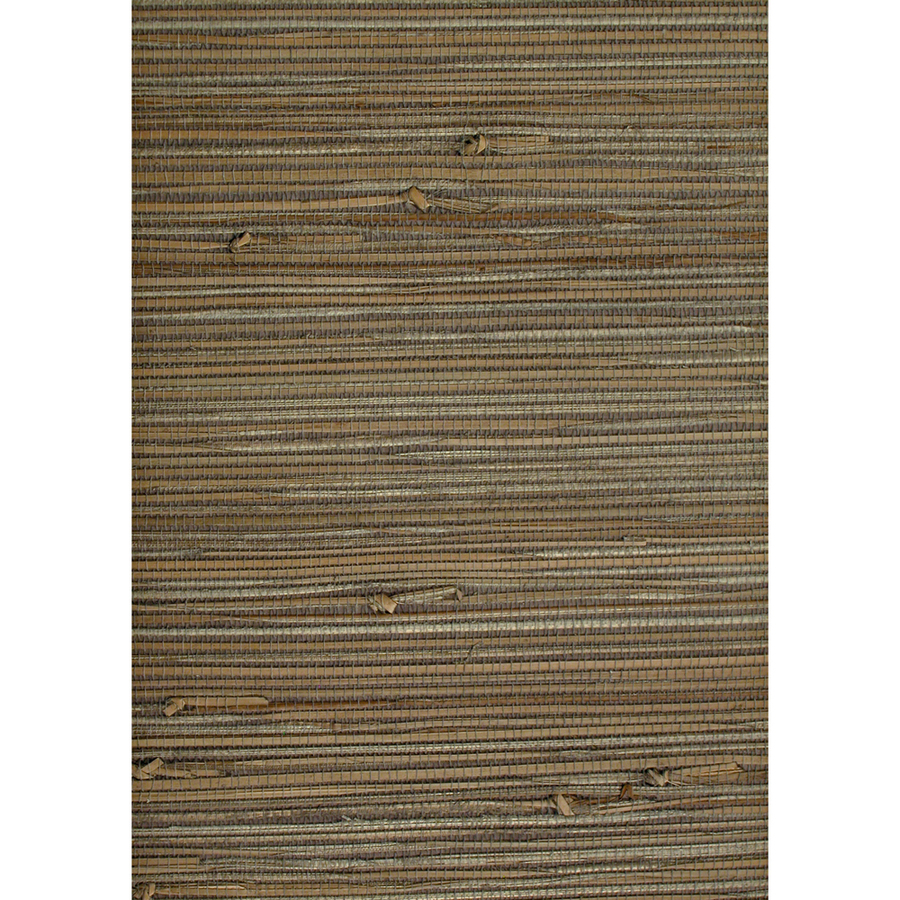 Shop Allen + Roth Multicolor Grasscloth Unpasted Wallpaper