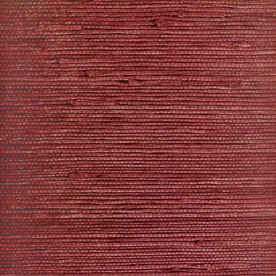 Home allen   roth Red Grasscloth Unpasted Textured Wallpaper