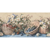 Waverly 10.25-in Blue Prepasted Wallpaper Border