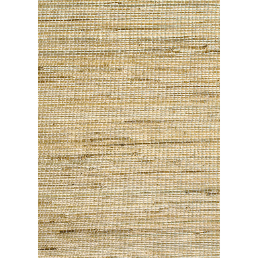 shop allen roth brown grasscloth unpasted wallpaper at