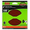 Gator 4-Pack 100-Grit 5-in W x 5-in L Stick-On Sanding Disc Sandpaper