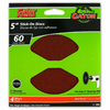 Gator 4-Pack 60-Grit 5-in W x 5-in L Stick-On Sanding Disc Sandpaper