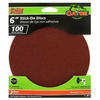 Gator 3-Pack 100-Grit 6-in W x 6-in L Stick-On Sanding Disc Sandpaper