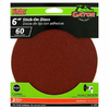 Gator 3-Pack 60-Grit 6-in W x 6-in L Stick-On Sanding Disc Sandpaper