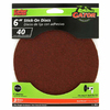Gator 3-Pack 40-Grit 6-in W x 6-in L Stick-On Sanding Disc Sandpaper