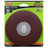 Gator 5-Pack 50-Grit 4-1/2-in W x 4-1/2-in L Fiber Disc Sandpaper
