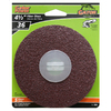 Gator 5-Pack 36-Grit 4-1/2-in W x 4-1/2-in L Fiber Disc Sandpaper