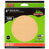 Gator 25-Pack 180-Grit 6-in W x 6-in L Stick-On Sanding Disc Sandpaper