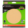 Gator 25-Pack 120-Grit 6-in W x 6-in L Stick-On Sanding Disc Sandpaper