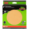 Gator 20-Pack 80-Grit 6-in W x 6-in L Precut Drywall Sanding Screen Sandpaper