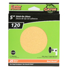 Gator 25-Pack 5-in W x 5-in L 120-Grit Commercial Stick-On Sanding Discs Sandpaper