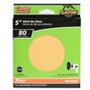 Gator 25-Pack 80-Grit 5-in W x 5-in L Sanding Discs Sandpaper