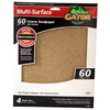 Gator 4-Pack 60-Grit 9-in W x 11-in L Multi-Surface Sandpaper