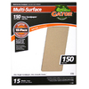 Gator 15-Pack 150-Grit 9-in W x 11-in L Multi-Surface Sandpaper
