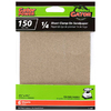 Gator 6-Pack 150-Grit 4-1/2-in W x 4-1/2-in L 1/4 Sheet Clamp-on Sandpaper