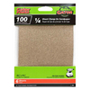 Gator 6-Pack 100-Grit 4-1/2-in W x 4-1/2-in L 1/4 Sheet Clamp-on Sandpaper