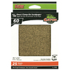 Gator 25-Pack 4.5-in W x 5.5-in L 60-Grit Commercial 1/4 Sheet Clamp-On Sandpaper