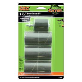 Gator 6-Pack 1.5-in W x 1.5-in L Multi-Grade Pack Commercial Sanding Drum Sandpaper