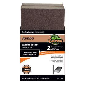 Gator Propack Drywall Jumbo Fine/Medium Sanding Sponge