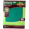 Gator 3-Pack 80-Grit 9-in W x 11-in L Moderate Stripping Sandpaper