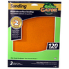 Gator 3-Pack 120-Grit 9-in W x 11-in L Moderate Surface Leveling Sandpaper