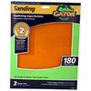 Gator 3-Pack 180-Grit 9-in W x 11-in L Feathering Imperfections Sandpaper