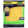 Gator 3-Pack 220-Grit 9-in W x 11-in L Finishing Sandpaper