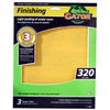 Gator 3-Pack 320-Grit 9-in W x 11-in L Finishing Sandpaper