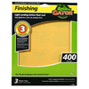 Gator 3-Pack 400-Grit 9-in W x 11-in L Finishing Sandpaper