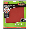 Gator 8-Pack 100-Grit 9-in W x 11-in L Multi-Surface Power Sandpaper
