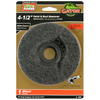Gator 40-Grit 4.5-in W x 4.5-in L Paint and Rust Remover Wheel Sandpaper