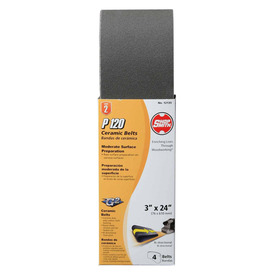 Shopsmith 4-Pack 120-Grit 3-in W x 24-in L Sanding Belt Sandpaper