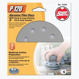 Shopsmith 6-Pack 120-Grit 5-in W x 5-in L Sanding Discs Sandpaper