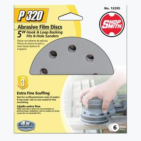 Shopsmith 6-Pack 5-in W x 5-in L 320-Grit Commercial Sanding Discs Sandpaper